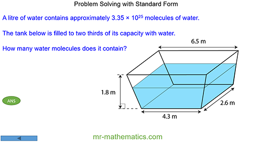 Problem Solving with Standard Form