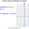 Problem Solving – Straight Line Graphs