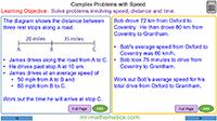 Complex Problems Involving Speed