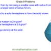 Grade 8 and 9 Maths Problems