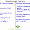 Problem Solving – Place Value
