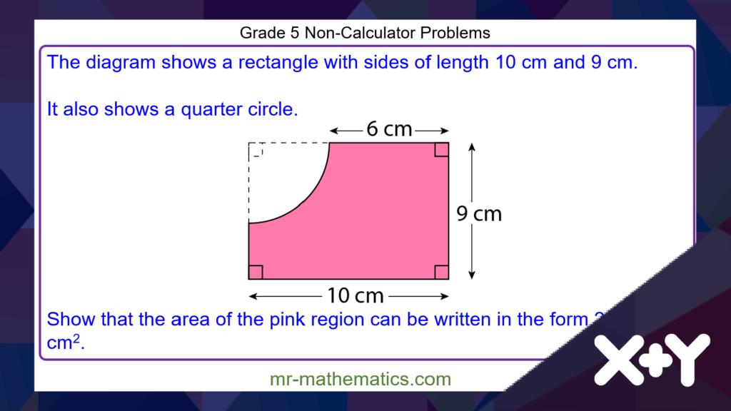 Grade 5 Maths Problems