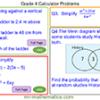 Grade 4 Calculator Problems