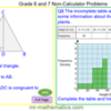 Grade 6 and 7 Non-Calculator Maths Problems