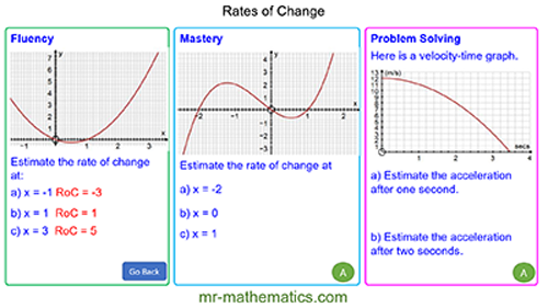 Extended Learning - Rates of Change