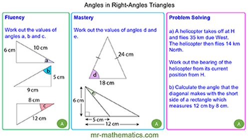 Extended Learning - Finding Angles using Trigonometry