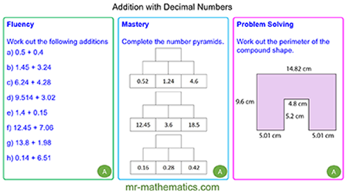 Adding with Decimal Numbers
