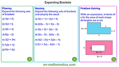 Extended Learning - Expanding Brackets