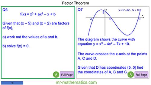 Factor Theorem