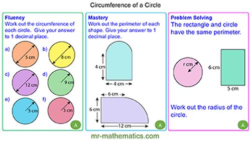 Circumference of Circles