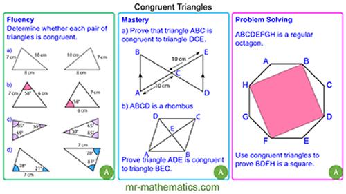 Congruent Triangles
