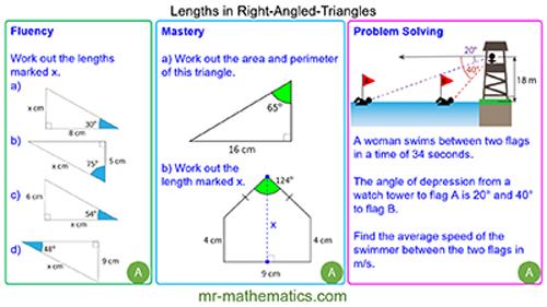 Finding Lengths using Trigonometry