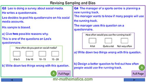 Sampling and Bias